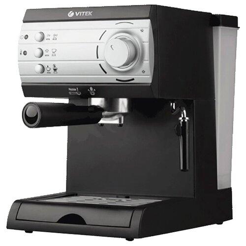 Фото - Кофеварка рожковая VITEK VT-1519, черный кофеварка vitek vt 1503