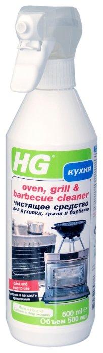 Чистящее средство для духовки, гриля, барбекю HG