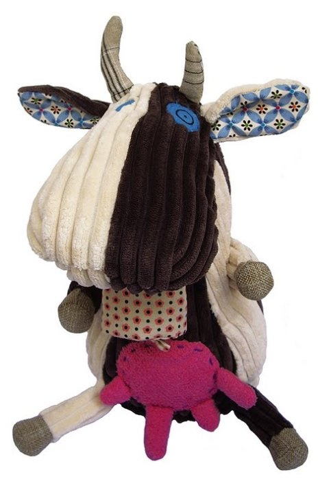 Мягкая игрушка Deglingos Коровка Milkos 31 см