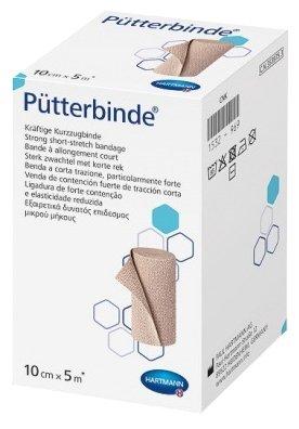 931815 Putterbinde 100% хлопок. с зажимами /цвет кожи/: 5 м х 10 см; 10 шт.