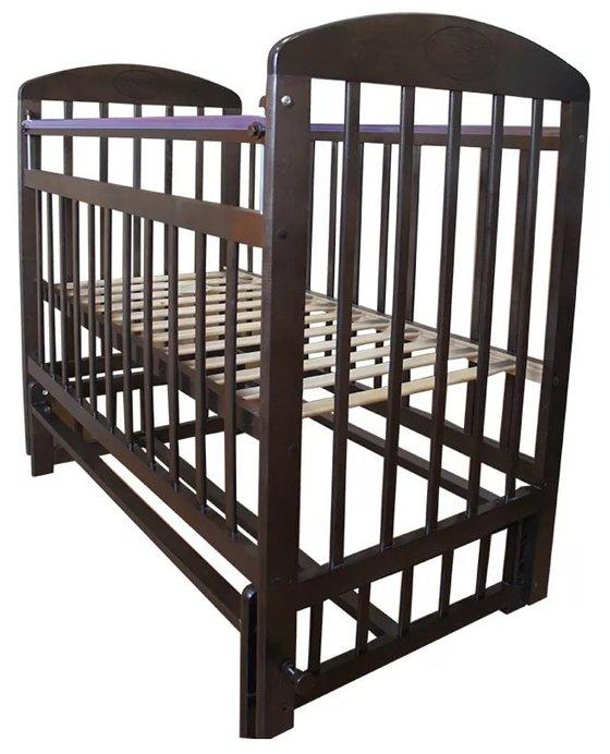 Кроватка Мой малыш 9 (маятник поперечный)