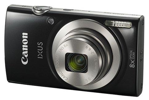 Фотоаппарат Canon ixus 185 черный 20mpix zoom8x 2.7