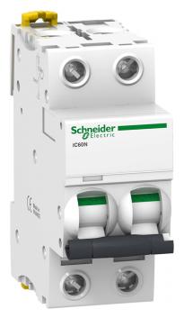 Автоматический выключатель Schneider Electric Acti 9 iC60N 2P (C) 6кА