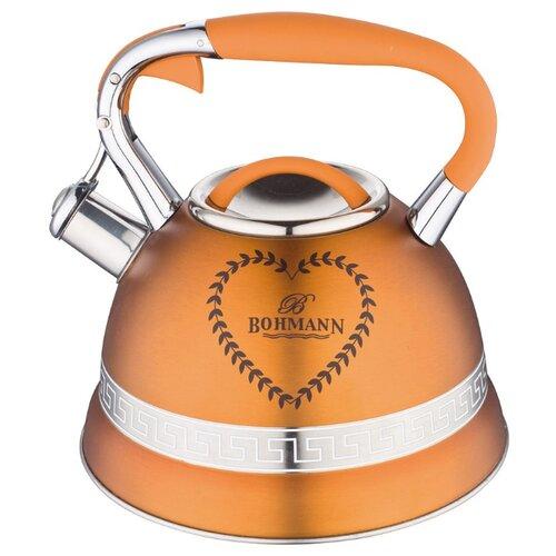 Bohmann Чайник BH-9911 3 л, оранжевый bohmann чайник bh 9911 3 л оранжевый