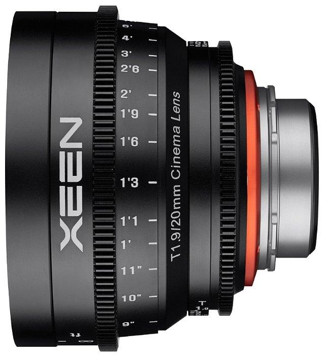 Объектив Xeen 20mm T1.9 Nikon F