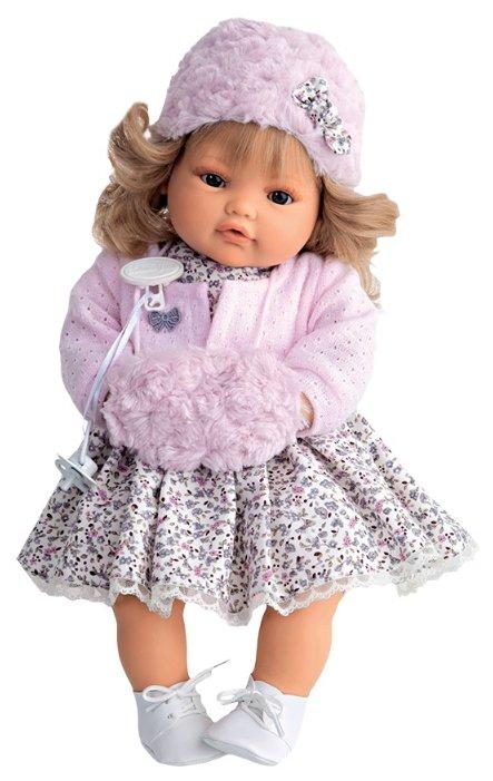Интерактивная кукла Antonio Juan Белла с муфтой 42 см 1669