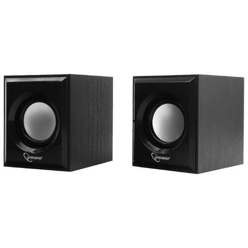 Компьютерная акустика Gembird SPK-205 черный колонка gembird spk 500 2 0 black