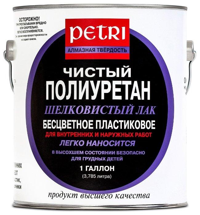 Лак Petri Diamond Hard полуглянцевый (1 л)