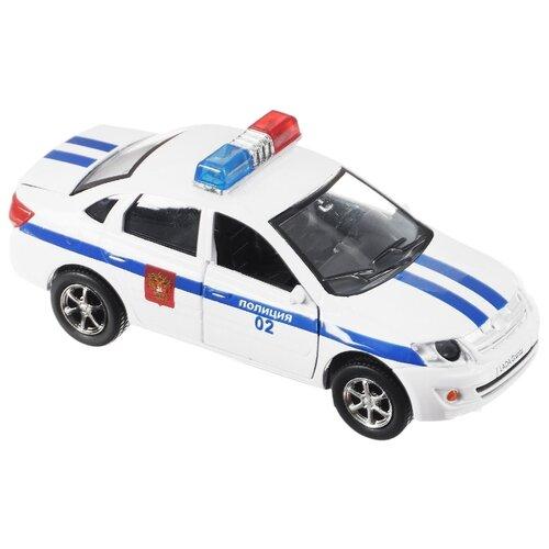 цена Легковой автомобиль ТЕХНОПАРК Lada Granta Полиция (SB-13-15-2) 1:43 белый онлайн в 2017 году