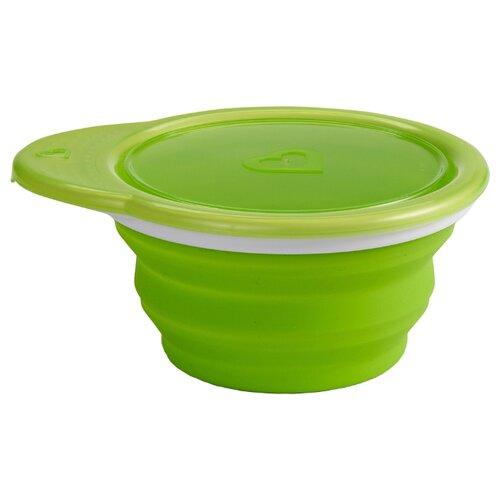 Купить Тарелка Munchkin Go Bowl (12377) зеленый, Посуда