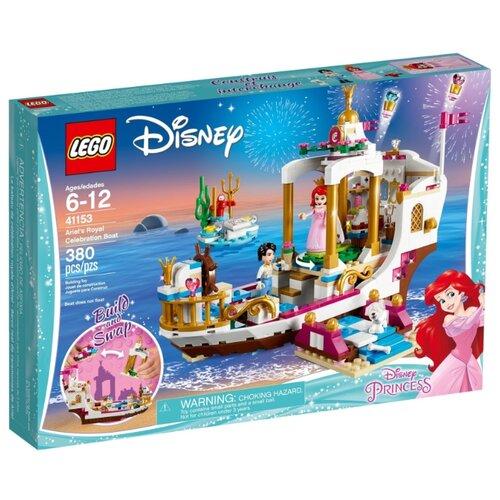 Купить Конструктор LEGO Disney Princess 41153 Королевский корабль Ариэль, Конструкторы