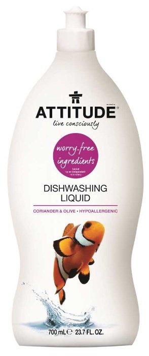 ATTITUDE Жидкость для мытья посуды Coriander & olive