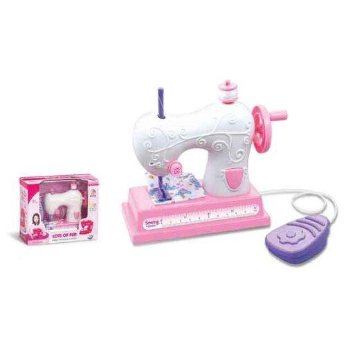 цена на Швейная машина Shantou Gepai Lots of fun 721 розовый/белый/фиолетовый