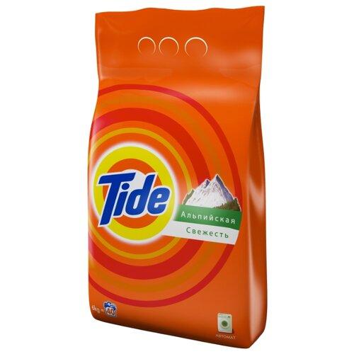 Стиральный порошок Tide Альпийская свежесть (автомат) 6 кг пластиковый пакет капсулы альпийская свежесть tide
