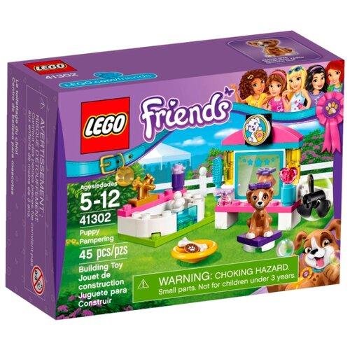Конструктор LEGO Friends 41302 Выставка щенков: Салон красоты