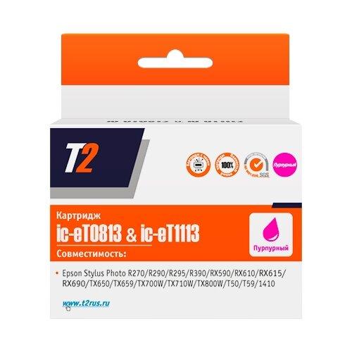 Картридж T2 IC-ET0813/IC-ET1113, совместимый картридж t2 cb324he 178xl ic h324