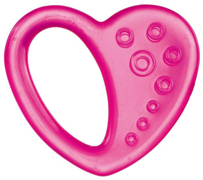 Прорезыватель Canpol Babies Сердце 2/294 розовый