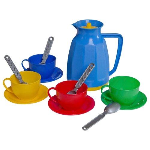 Купить Набор посуды ТехноК Маринка-8 1509 разноцветный, Игрушечная еда и посуда