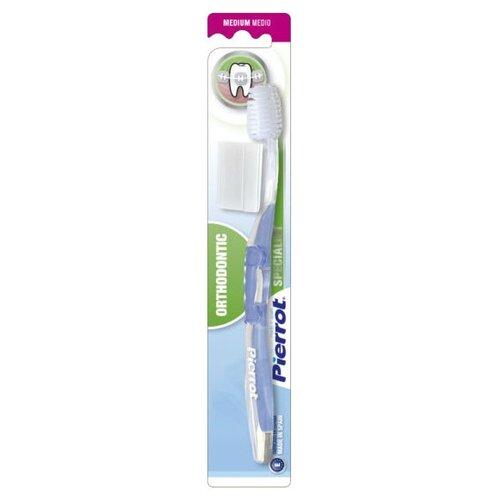 Зубная щетка Pierrot Specialist Orthodontic Medium, синий