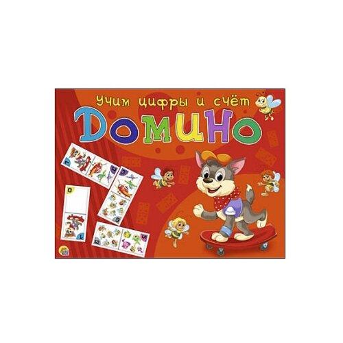 Настольная игра Рыжий кот Домино Учим цифры и счет ИН-5996 настольная игра рыжий кот космос ин 9182