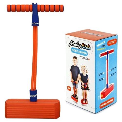 Тренажер для прыжков Moby Kids Moby-Jumper со звуком оранжевый фото