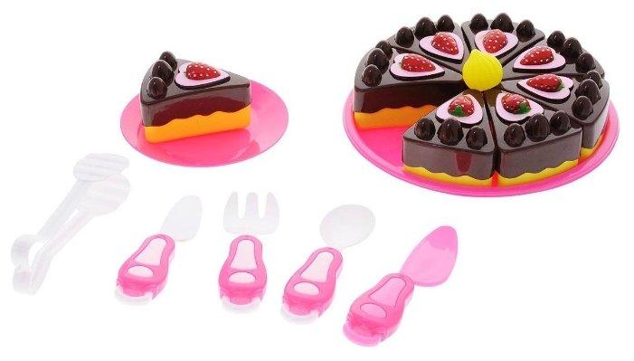 Набор продуктов с посудой ABtoys Маленький кондитер PT-00360