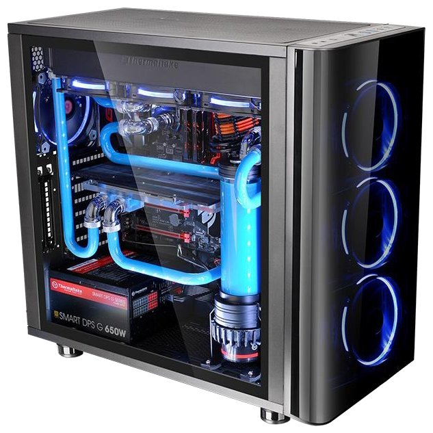 Компьютерный корпус Thermaltake View 31 TG CA-1H8-00M1WN-00 Black