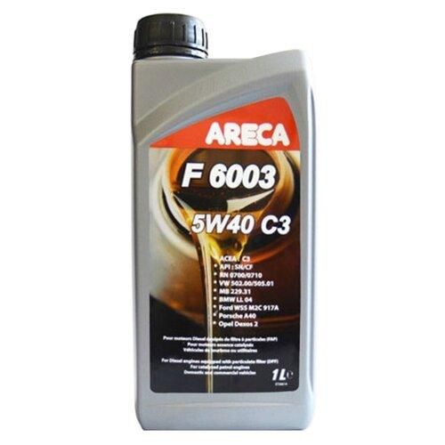 Синтетическое моторное масло Areca F6003 5W40 1 л