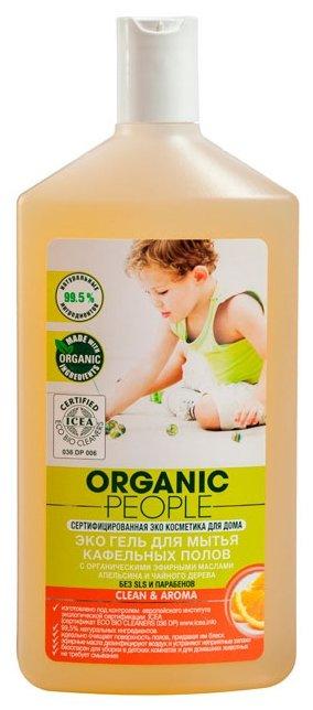 Organic People гель Эко для мытья кафельных полов