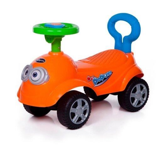Купить Каталка-толокар Baby Care QT Racer (615B) со звуковыми эффектами оранжевый, Каталки и качалки