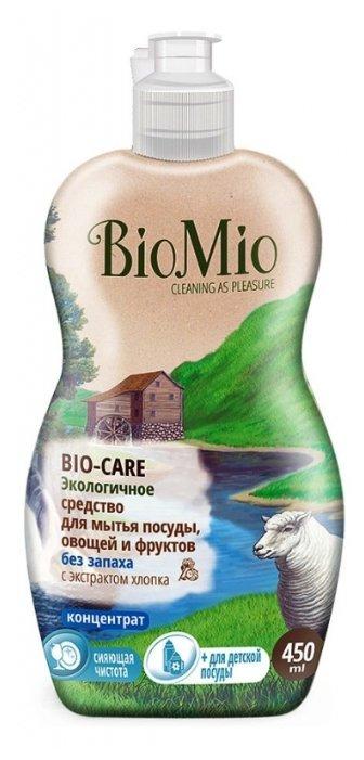 BioMio Средство для мытья посуды, овощей и фруктов без запаха
