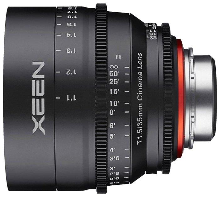 Объектив Xeen 35mm T1.5 Micro 4/3
