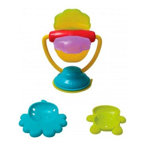 Купить Набор для ванной Playgro Deluxe Spinning Bath Wheel (0184964) голубой/зеленый/красный, Игрушки для ванной