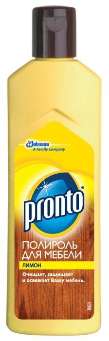Pronto Жидкий полироль Лимон