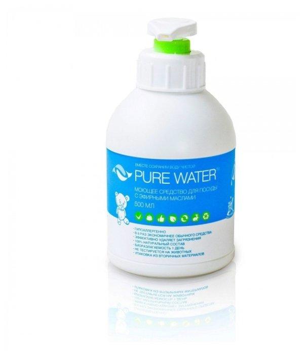 PURE WATER Средство для мытья посуды Гипоаллергенное