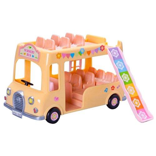 Купить Игровой набор Sylvanian Families Двухэтажный автобус для малышей 3588/5101, Игровые наборы и фигурки