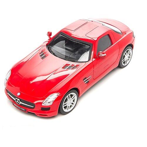 Купить Легковой автомобиль Auldey Mercedes-Benz SLS AMG (LC296810) 1:18 17 см красный, Радиоуправляемые игрушки