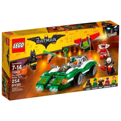 Купить Конструктор LEGO The Batman Movie 70903 Гоночный автомобиль Загадочника, Конструкторы