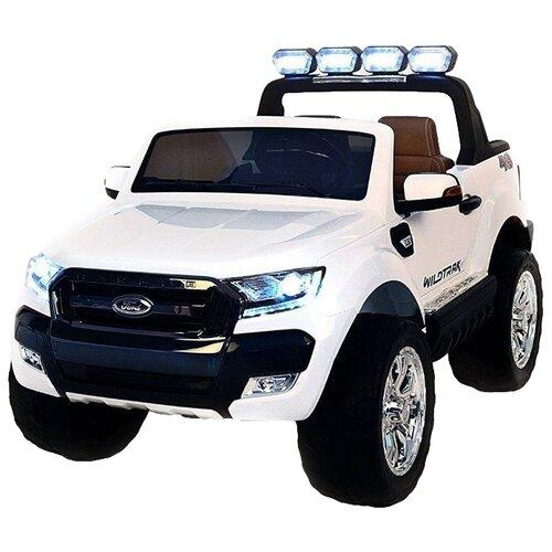 Купить RiverToys Автомобиль New Ford Ranger 4WD, лицензионная модель, белый, Электромобили