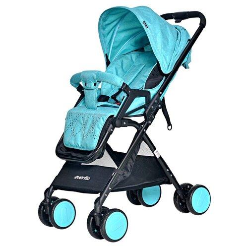 Прогулочная коляска everflo E-550 Cruise, blue прогулочная коляска tfk joggster trail twillight blue