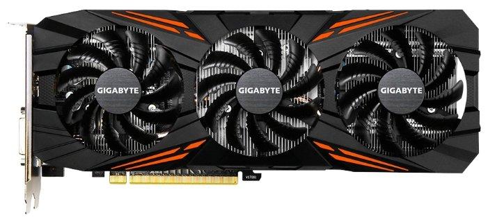 Видеокарта GIGABYTE GeForce GTX 1070 Ti 1607MHz PCI-E 3.0 8192MB 8008MHz 256 bit DVI HDMI HDCP GAMING