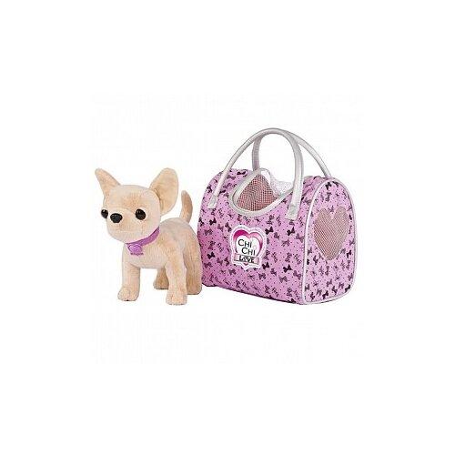 Мягкая игрушка Simba Chi chi love Чихуахуа путешественница 20 см