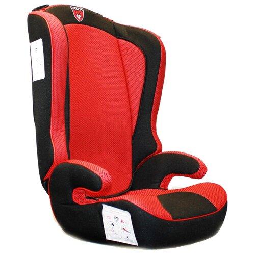 Автокресло группа 2/3 (15-36 кг) Vixen Оникс 2-3, красный