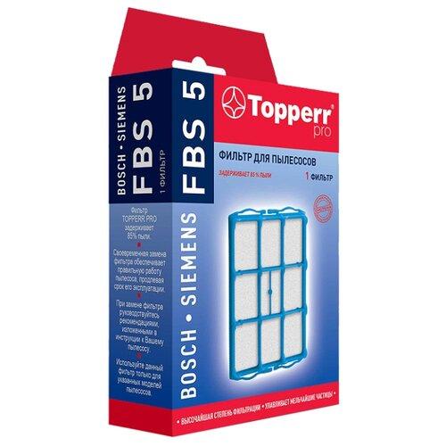 Topperr HEPA-фильтр FBS 5 1 шт.Аксессуары для пылесосов<br>