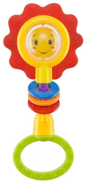 Прорезыватель-погремушка Happy Baby Flower Twist