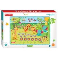 Пазл Step puzzle Fisher Price (91224) , элементов: 35 шт.