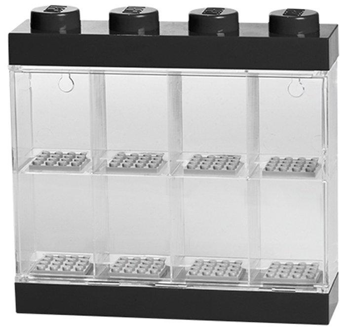 Пластиковый кейс LEGO 40651741 Пластиковый кейс для 8 минифигур, зеленый