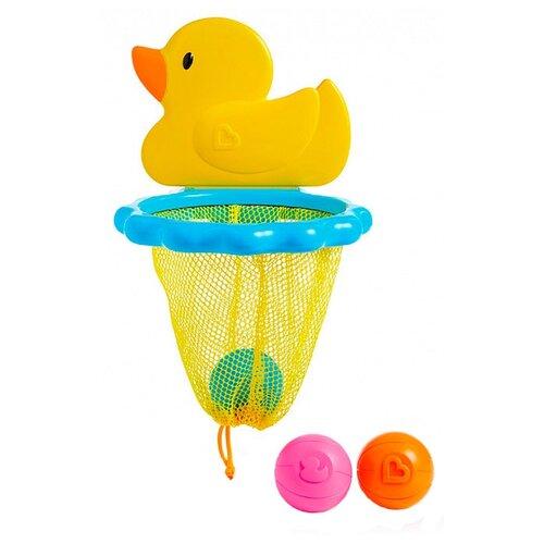 Купить Игрушка для ванной Munchkin Баскетбол Утка (12412) разноцветный, Игрушки для ванной
