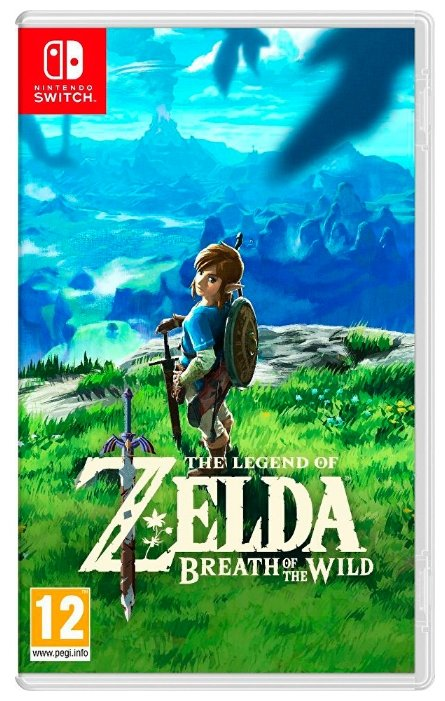 Legend of Zelda: Breath of the Wild, The (Nintendo Switch)