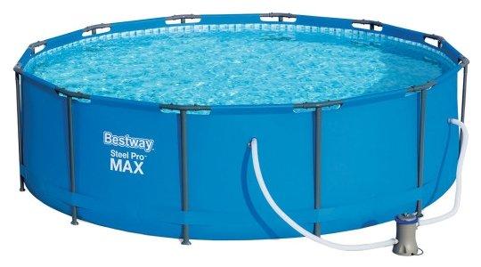 Бассейн Bestway Steel Pro MAX 56420 с набором